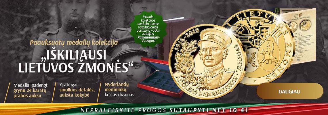 """Kolekcija """"Iškiliausi Lietuvos žmonės"""