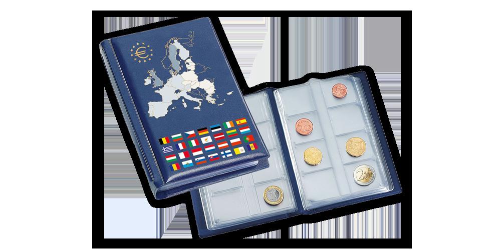 Albumas ROUTE euro monetų rinkiniams