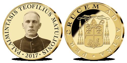 Palaimintasis Teofilius Matulionis įamžintas atminimo medalyje