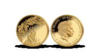 """Auksinė moneta """"Joninės"""""""