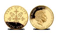 "Gryno aukso moneta ""Gyvybės medis"""