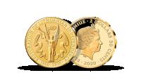 """Gryno aukso moneta """"Laisvės šauklys"""""""