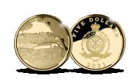 Aukso moneta, skirta Estijos raliui 2021