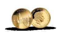 3 Kolekcija Keturios sostines trecioji moneta Vilnius