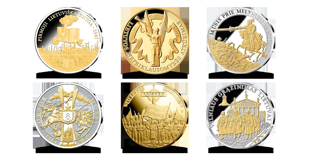 """Rinkinys """"Reikšmingiausi dešimtmečio medaliai"""" 2021"""
