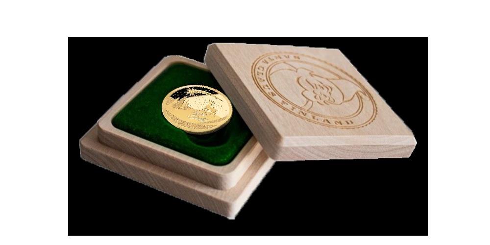 """Aukso moneta """"Kalėdos"""""""