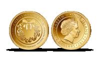 """Gryno aukso moneta """"Kalėdų vainikas"""""""
