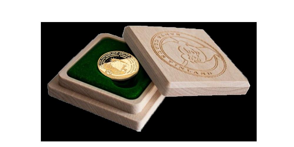 Moneta iš Kalėdų Senelio aukso
