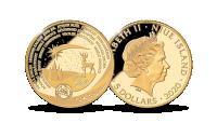 Kalėdinė moneta iš Laplandijos aukso