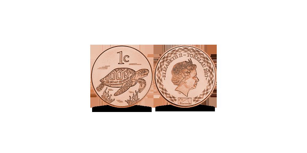 1 centas Tokelau