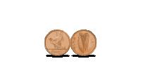 1 Airiškas centas (Penny)