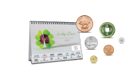 """Stalinis kalendorius """"Sėkmę nešančios monetos 2021"""""""