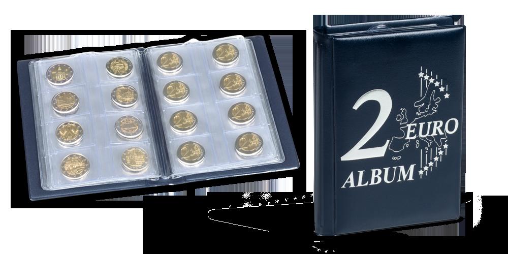 Kišeninis 2 euro monetų albumas