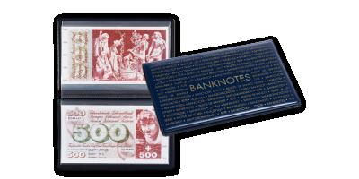 Kišeninis albumas banknotams iki 210 x 125 mm dydžio