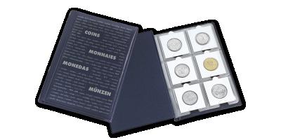 Kišeninis monetų albumas ROUTE 60 gaminių laikyti