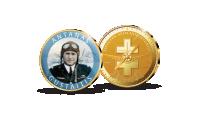 Kolekcija Lietuvos aviacijos istorija, medalis Antanas Gustaitis