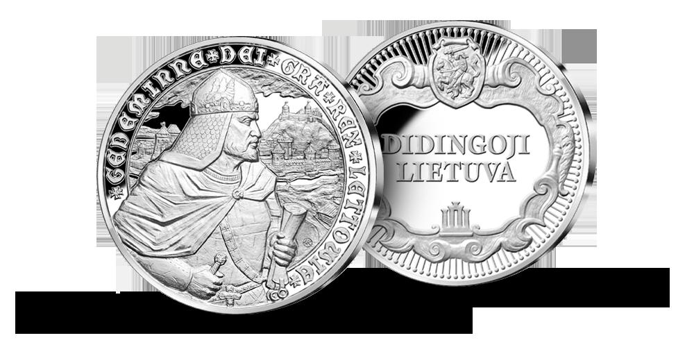 """Sidabro medalių kolekcija """"Didingoji Lietuva"""""""