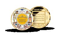 Kolekcija Lietuviais esame mes gimę, trečiasis medalis Himnas