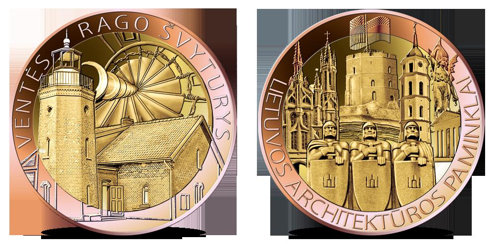 Kiti kolekcijos medaliai