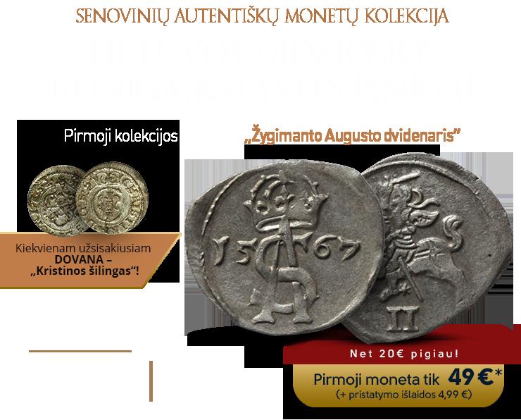 """""""Lietuvos Didžiosios Kunigaikštystės pinigai"""""""