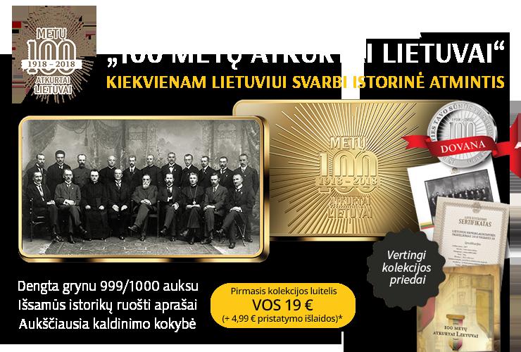 """Unikali istorinių fotografijų kolekcija """"100 metų atkurtai Lietuvai"""""""