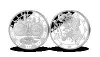 Medalis skirtas euro įvedimui Lietuvoje