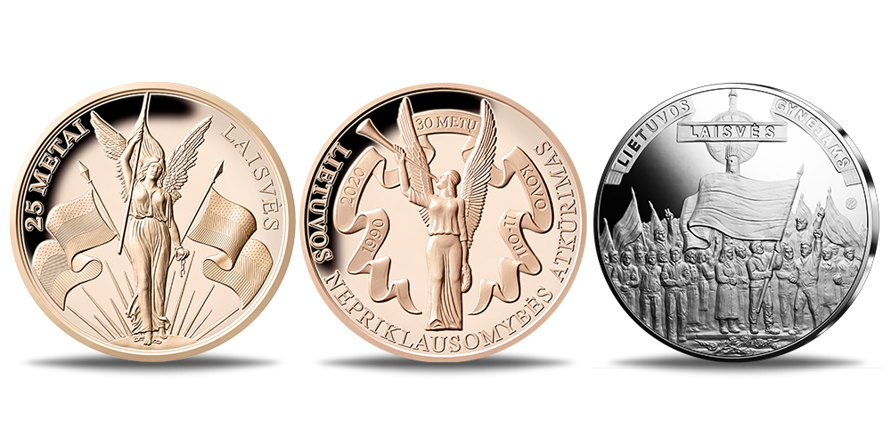 """Medalių rinkinys """"Lietuvos laisvė"""""""