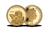 """Gryno aukso moneta """"Rafaelio angelai"""""""
