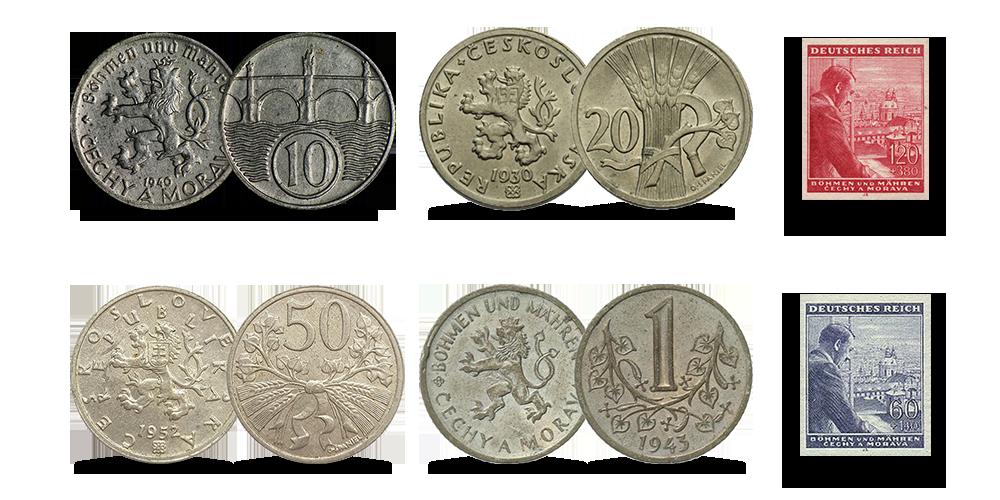 Bohemijos ir Moravijos monetų rinkinys