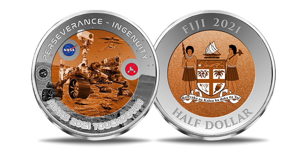 """Titano monetų rinkinys """"Kelionėms į kosmosą – 60 metų""""2"""