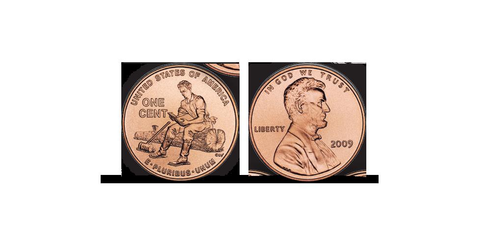 Monetų rinkinys, skirtas JAV prezidentui Abraomui Linkolnui