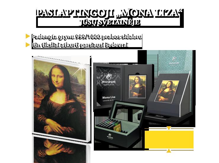 """Perkelkite """"Mona Lizą"""" iš garsiojo Luvro muziejau į savo svetainę!"""