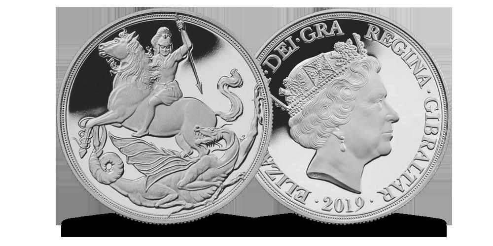 Pirmasis sidabrinis soverenas pasaulyje