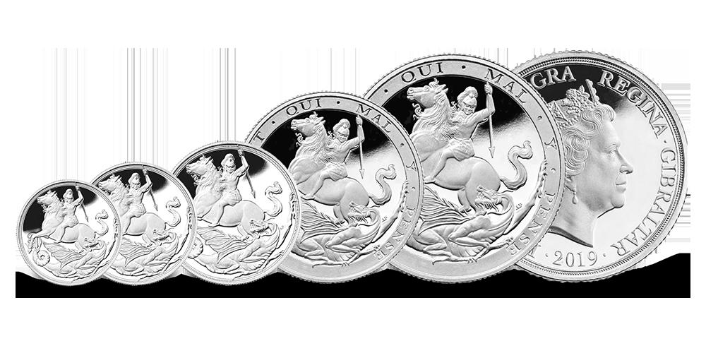 Pirmųjų sidabrinių soverenų rinkinys