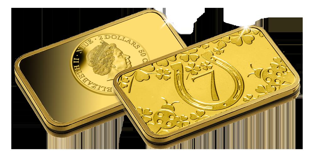 """Aukso dirbinys """"Sėkmės moneta"""""""