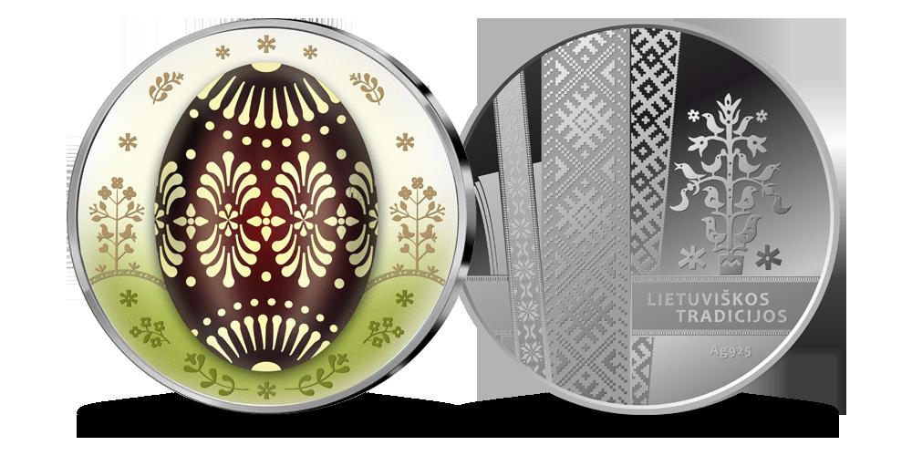 Velykinis sidabro medalis Margutis