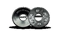 Sidabro moneta įkvėpta senųjų baltų segių