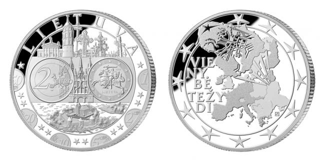Euro įvedimo medalis
