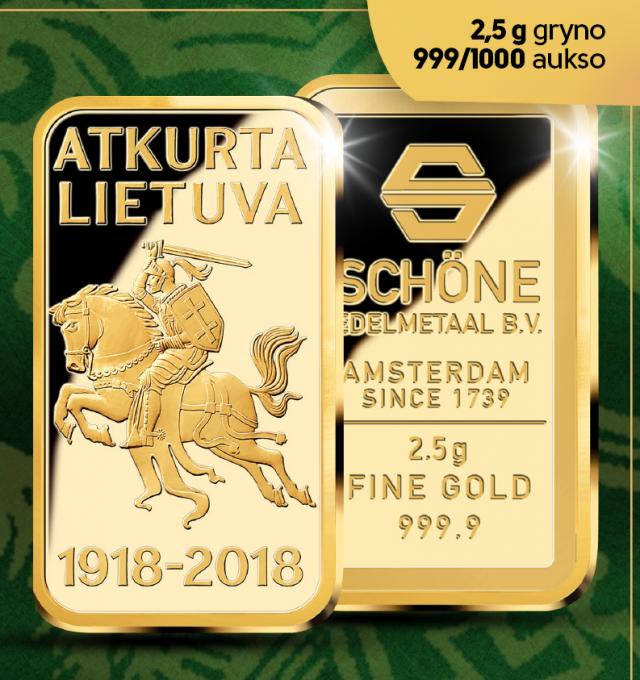 Gryno aukso luitelis Vytis