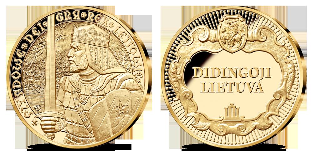 Medalis karaliui Mindaugui