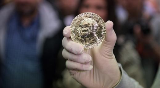 Nukaldintas ypatingas Nobelio taikos premijos medalis