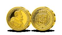 Zigmanto III Vazos 100 dukatų replika (2g)